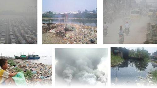 Tình trạng ô nhiễm không khí ở các nước